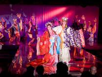 加賀屋雪月花歌劇団のショーを愉しむ☆≪シアタークラブ花吹雪≫観賞プラン