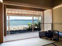 <海を臨むお茶室で過ごすひと時>旅館で本格的なお茶会体験をしませんか? 宿泊プラン