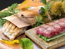 お肉料理または海鮮料理からチョイス