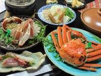 【食べ比べ】タグ付き活間人蟹1.0杯+特選ズワイガニ1.0杯<学び>