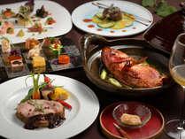 ■─フルコース─■ 季節を感じる<旬の魚料理>×<お肉のヒトサラ>を存分に♪