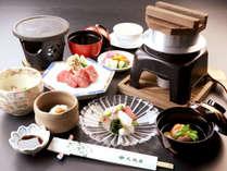 【悠-yuu-】A4ランク以上 熔岩焼き黒毛和牛ステーキ!季節の食材が舞う旬彩懐石
