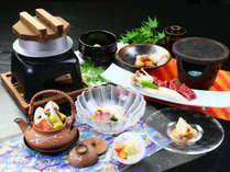 【悠-yuu-】ブランド神戸牛熔岩焼き~季節の食材が舞う旬彩会席~