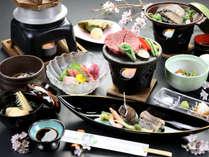 【凜-rin-】二大味覚◆鮑&黒毛和牛の最高級フィレ肉溶岩焼き