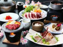 河津桜の時期の特別料理をご堪能ください!