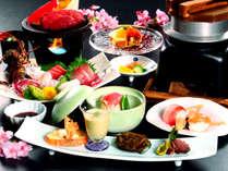 【じゃらん夏SALE】【海~Umi~】 伊勢海老&牛フィレステーキ◆季節の食材が舞う旬彩懐石