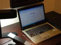 【全室インターネット接続無料】お部屋でのお仕事もはかどります。