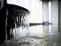 当館自慢の天然温泉はお肌がツルツルになる美肌の湯。 ※プランに含まれていない場合別途料金要