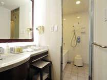 37平米以上のお部屋は洗面所、お風呂、トイレはそれぞれ独立したセパレートバスルーム