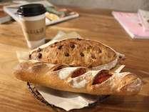 ~朝はゆったりとカフェモーニング【The BAKER】モーニングセット付きプラン~