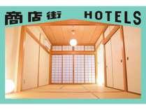 商店街HOTELS EITA