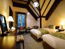 スタンダードツイン ベッドルーム一例