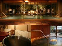 【スタンダード】地下源泉を持つ温泉旅館での夕食・朝食付プラン
