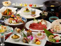 【なごみ・春夏会席】憧れの高級食材が大集合!食べきれない美味競演