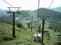当館より徒歩2分の高天ヶ原サマーリフト(6月~10月迄営業)