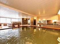 *温泉/登山やスキーの後には大浴場でリフレッシュ