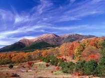 九州で有名な紅葉名所、瀬の本の紅葉を観にいらっしゃいませんか?(猟師山の紅葉)