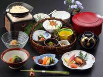 朝食一例-朝は身体に優しい和食をご用意いたします。-