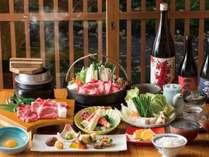 【都城市公認】常盤荘の宮崎牛すき焼き会席 一例 その1