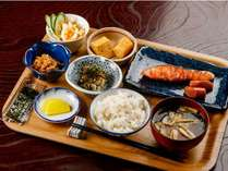 朝から和食で一日を元気に♪