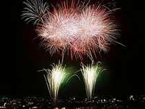 【8/21★観覧席確約<石和温泉花火大会>】山梨県最大級!さまざまな光の演出をお楽しみください♪