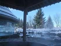 【雪見風呂】冬:降雪のあとだけ限定!