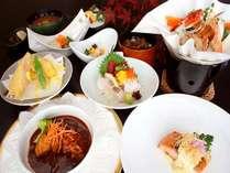 【夕食】スタンダードディナーコース一例