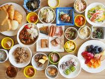 ■種類豊富な朝食バイキング■