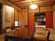 ☆【離れ/庵間】半露天風呂付客室です。和の雰囲気をお愉しみ下さい。