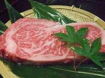 ご夕食のステーキをすこし豪華に「フィレ」にグレードアップ♪