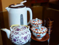 *【お部屋】電気ポットとお茶セットをお部屋にご用意しておりますのでご自由にお使いくださいませ。