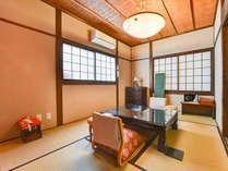 *【本館/風間】4帖+6帖の和室二間です。内湯・トイレがございます。