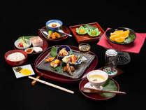 *【夕食一例】宮崎の旬を美味しく召し上がっていただけるお料理をご用意いたします。