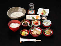 *【朝食】冷汁をはじめとした、手作りの朝食をお召し上がり下さい。