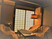 ☆【離れ/蔵間】露天風呂付の2階建て和洋室です。広いお部屋でお寛ぎ下さい。