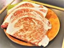 ☆ご夕食のメインは黒毛和牛A4~5ランクステーキ200g!お肉好きにはたまらない上質なお肉をぜひ♪
