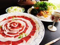 奈良県産しし肉使用。秋から冬の滋味を味わいたい