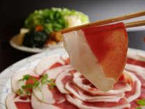 牡丹鍋。奈良県産しし肉を味わう!