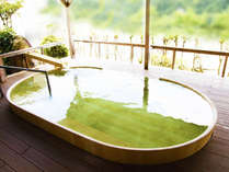 銀嶺の湯(高野槇の桶風呂)