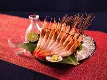 【夏休み前限定プラン!】 三国甘海老と越前真鯛の贅沢会席料理プラン