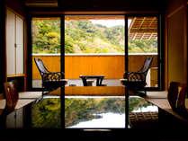 至福の休日♪プライベート感たっぷり!露天風呂付き客室で贅沢会席を(朝・夕ともお部屋食)