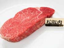 *肉の王様・松坂牛フィレステーキ。三重県にきたならぜひご賞味ください。