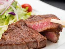 【*松坂牛】フィレステーキ。最高の焼き加減でご提供します。