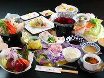 【山形名物しゃぶしゃぶ】米澤豚をワインで楽しむ♪コスパ重視の創作会席コース