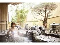 岩露天は平日空きがあれば貸切対応も可能♪の~んびり美人湯温泉を堪能して