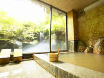 *【温泉】鉱泉ですが、自噴で濁り湯となっており、赤みを帯びた含鉄炭酸鉱泉です。