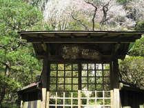 *【外観(春)】自然と一体になったくつろぎ空間をお楽しみ下さい。