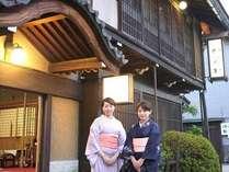 有形文化財の宿 旅館かみなか (岐阜県)