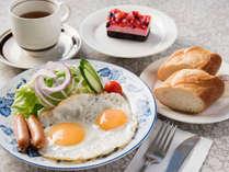 *朝食一例(洋食)