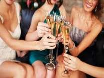 平日女子会プラン とってもお得 好きな飲み物食べ物を持ち込んで、女子だけで大騒ぎ。住宅タイプ4人用